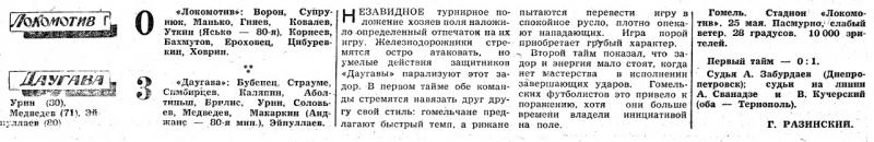 Локомотив (Гомель) - Даугава (Рига) 0:3. Нажмите, чтобы посмотреть истинный размер рисунка