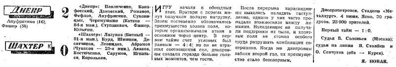 Днепр (Днепропетровск) - Шахтёр (Караганда) 2:0. Нажмите, чтобы посмотреть истинный размер рисунка
