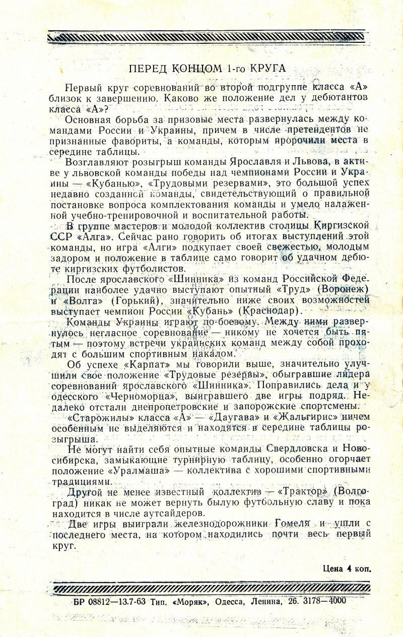 Черноморец (Одесса) - Шахтёр (Караганда) 3:1. Нажмите, чтобы посмотреть истинный размер рисунка