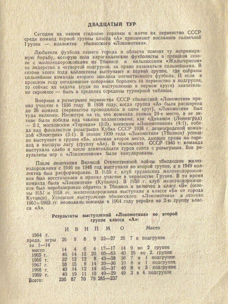 Шахтёр (Караганда) - Локомотив (Тбилиси) 1:0. Нажмите, чтобы посмотреть истинный размер рисунка