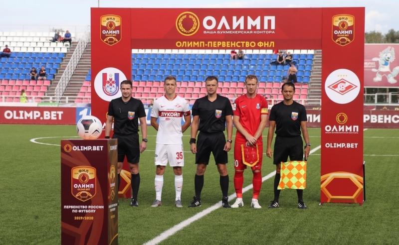 Мордовия (Саранск) - Спартак-2 (Москва) 1:0. Нажмите, чтобы посмотреть истинный размер рисунка