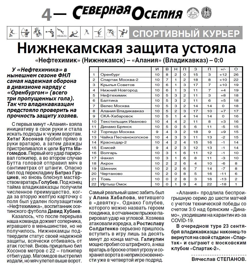 Нефтехимик (Нижнекамск) - Алания (Владикавказ) 0:0. Нажмите, чтобы посмотреть истинный размер рисунка