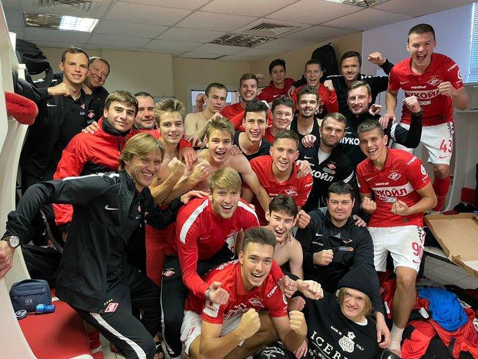 Спартак-2 (Москва) - Томь (Томск) 3:1