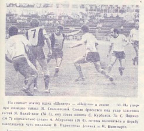 Шахтер (Донецк) - Нефтчи (Баку) 2:0