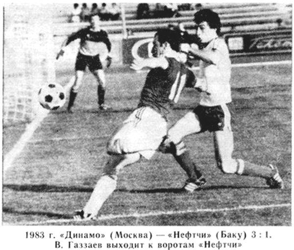 Динамо (Москва) - Нефтчи (Баку) 3:1
