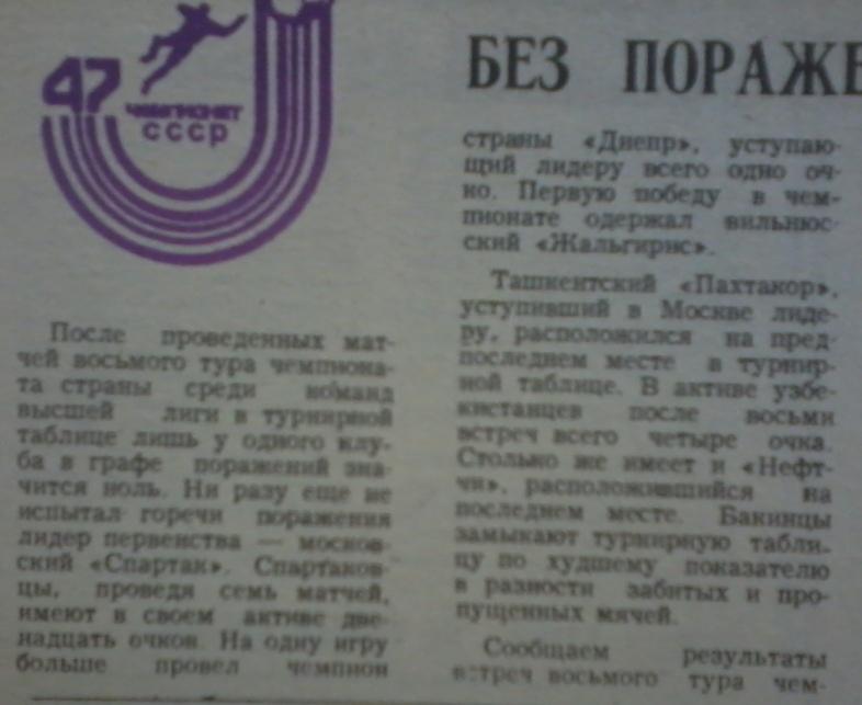 Спартак (Москва) - Пахтакор (Ташкент) 2:0