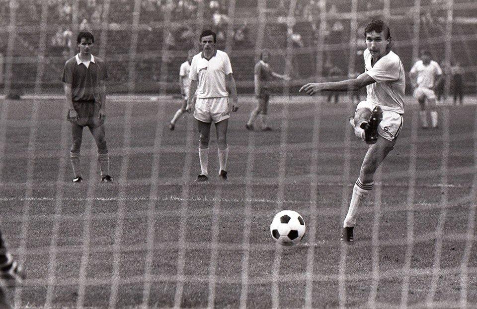 "Ретро-футбол ""Черноморец""  80-ые годы."