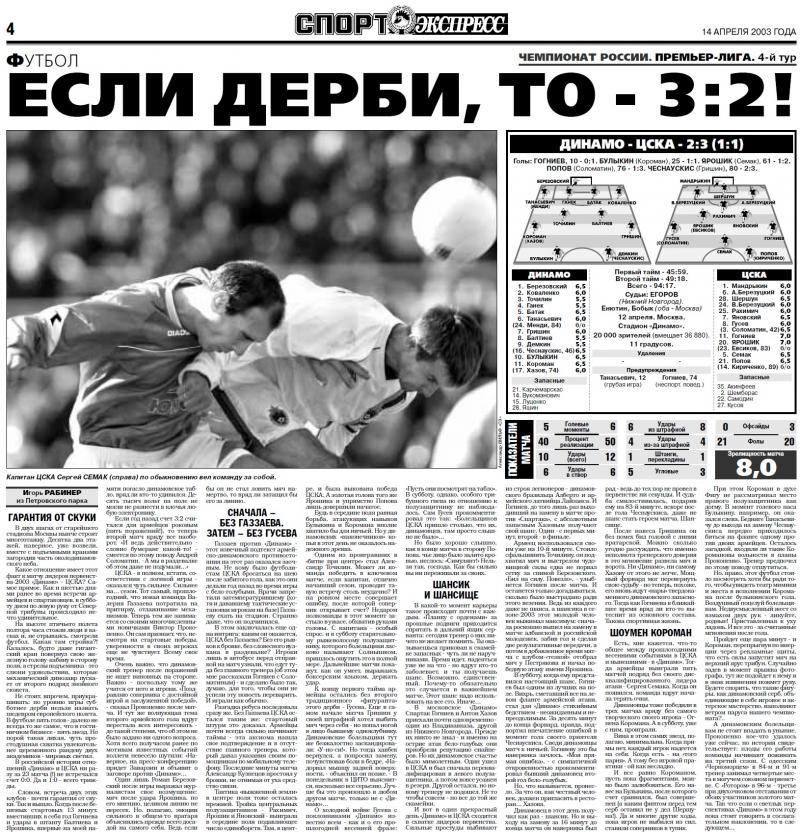 Динамо (Москва) - ЦСКА (Москва) 2:3. Нажмите, чтобы посмотреть истинный размер рисунка