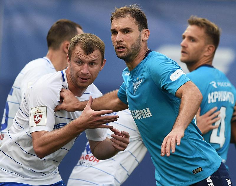 Динамо (Москва) - Зенит (Санкт-Петербург) 0:0