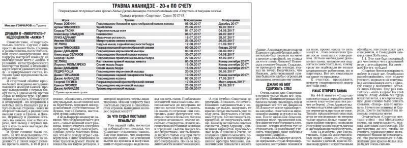 Спартак (Москва) - Анжи (Махачкала) 2:2. Нажмите, чтобы посмотреть истинный размер рисунка
