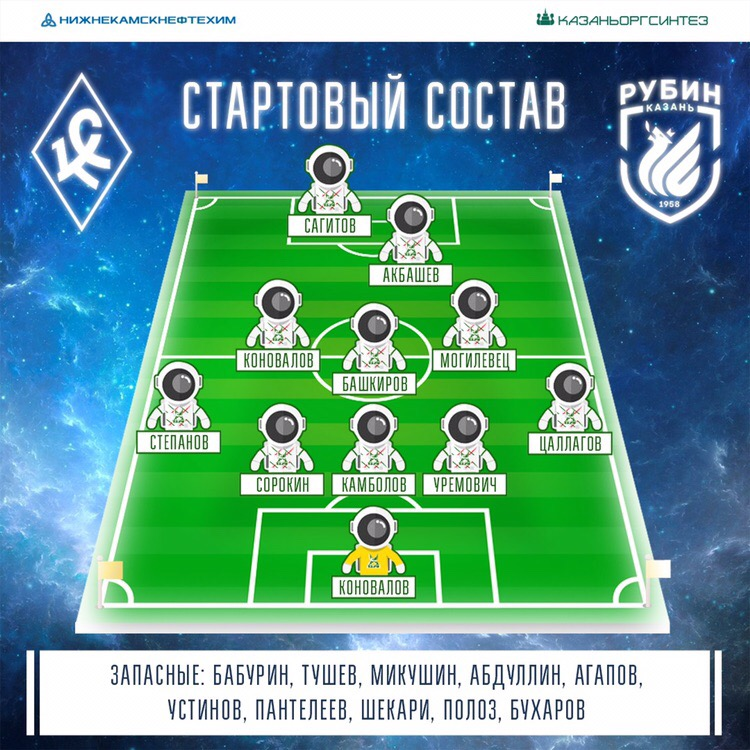 Крылья Советов (Самара) - Рубин (Казань) 1:0