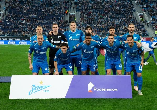 Зенит (Санкт-Петербург) - Динамо (Москва) 2:0