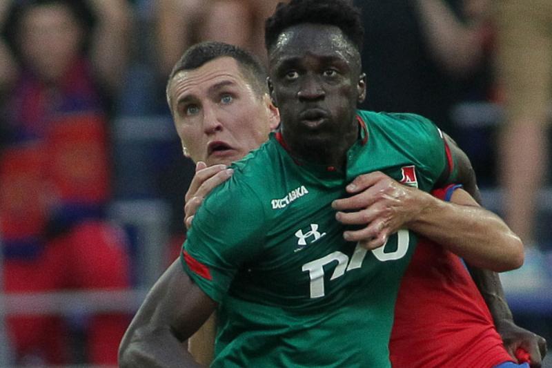 ЦСКА (Москва) - Локомотив (Москва) 1:0. Нажмите, чтобы посмотреть истинный размер рисунка