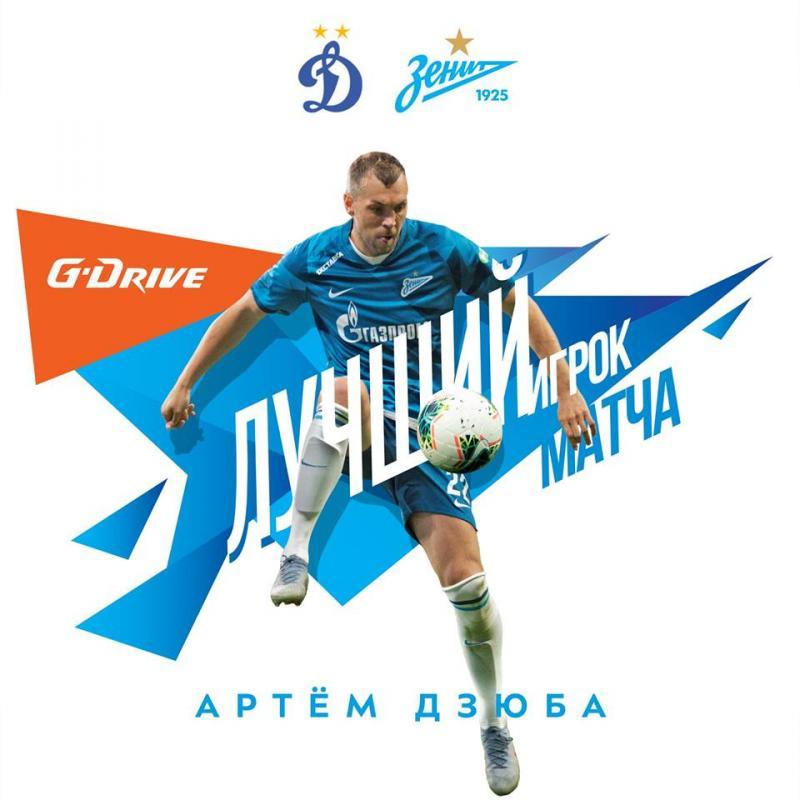 Динамо (Москва) - Зенит (Санкт-Петербург) 0:2. Нажмите, чтобы посмотреть истинный размер рисунка