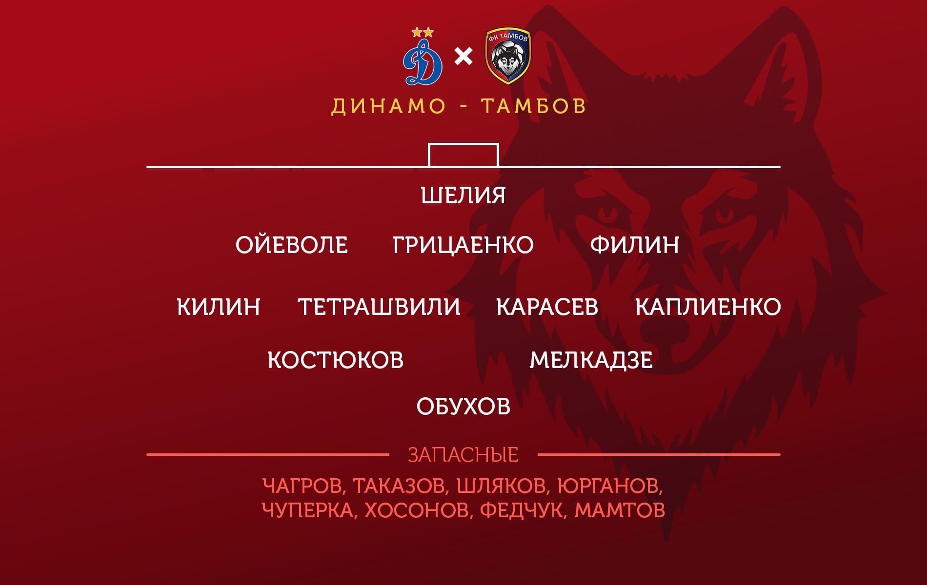 Динамо (Москва) - Тамбов (Тамбов) 1:0. Нажмите, чтобы посмотреть истинный размер рисунка