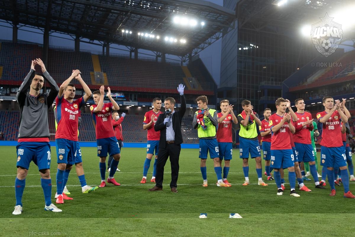 ЦСКА (Москва) - Тамбов (Тамбов) 2:0. Нажмите, чтобы посмотреть истинный размер рисунка