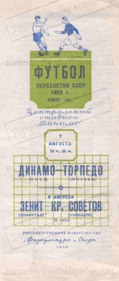 Динамо (Киев) - Торпедо (Москва) 2:2