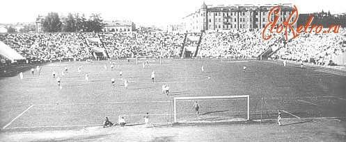 Сталинец (Ленинград) - Локомотив (Москва) 2:1