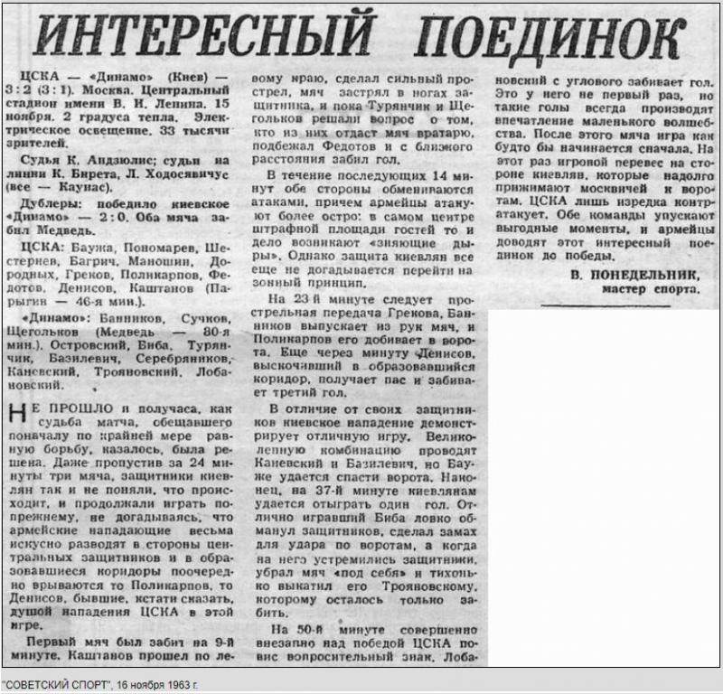 ЦСКА (Москва) - Динамо (Киев) 3:2. Нажмите, чтобы посмотреть истинный размер рисунка