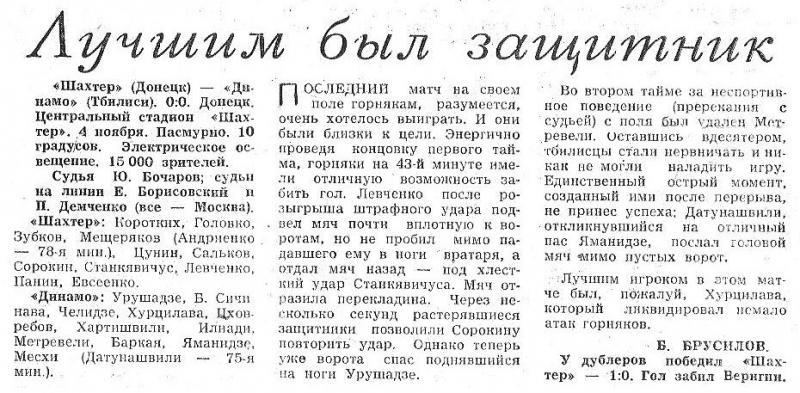 Шахтер (Донецк) - Динамо (Тбилиси) 0:0. Нажмите, чтобы посмотреть истинный размер рисунка