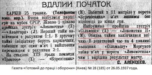 Сельмаш (Харьков) - Локомотив-2 (Москва) 1:0 д.в.