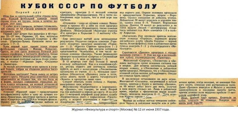 Трактор (Сталинград) - Динамо (Саратов) 9:1. Нажмите, чтобы посмотреть истинный размер рисунка