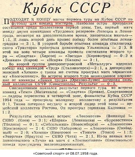 Знамя труда (Орехово-Зуево) - СКЧФ (Севастополь) 3:0