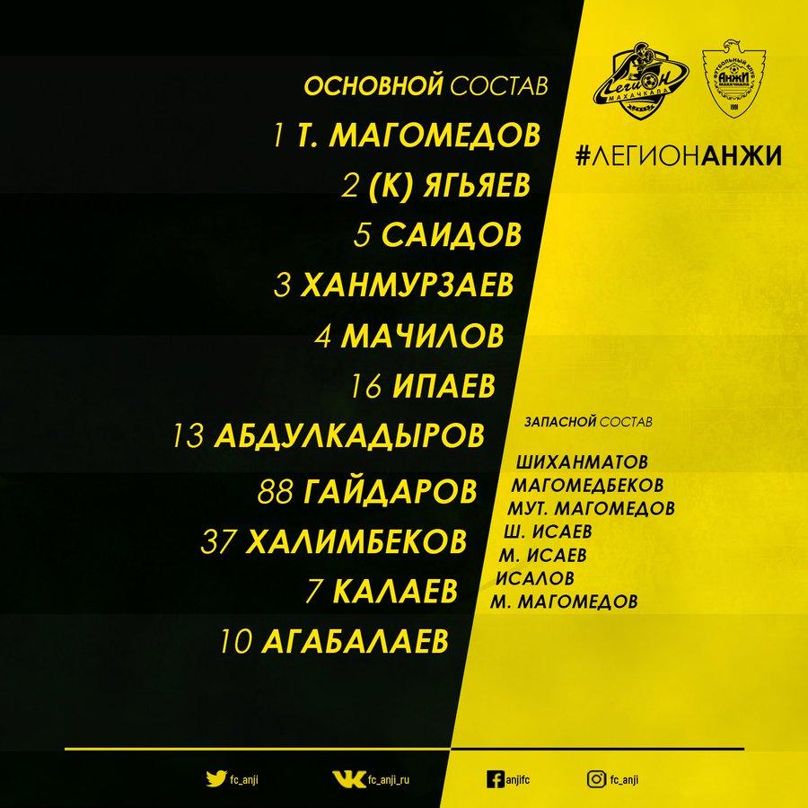 Легион-Динамо (Махачкала) - Анжи (Махачкала) 1:0. Нажмите, чтобы посмотреть истинный размер рисунка