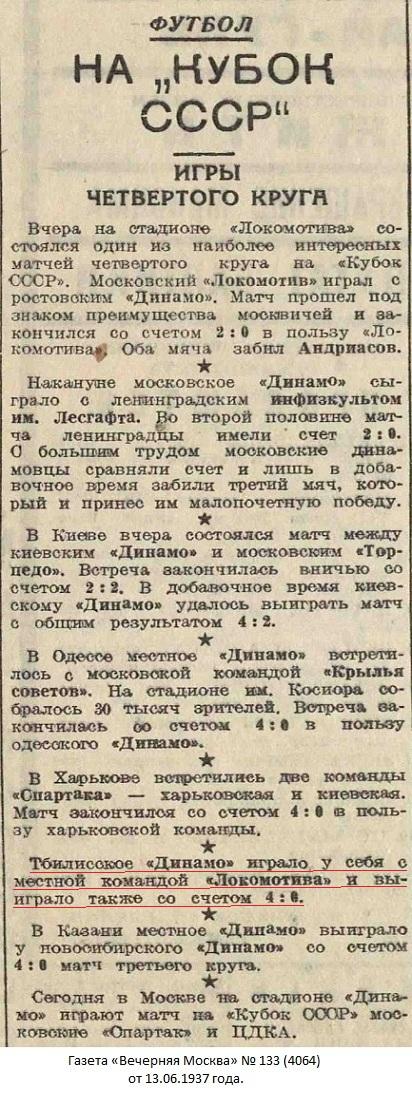 Динамо (Тбилиси) - Локомотив (Тбилиси) 4:0