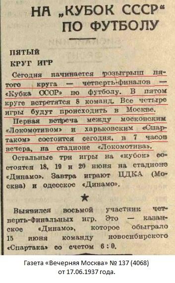 Локомотив (Москва) - Спартак (Харьков) 4:1