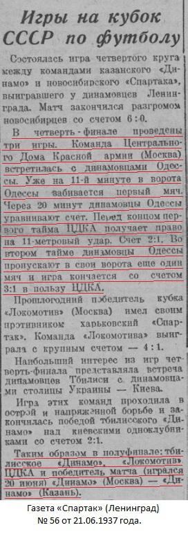 ЦДКА (Москва) - Динамо (Одесса) 3:1