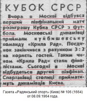 Спартак (Москва) - Динамо (Киев) 0:0 д.в.