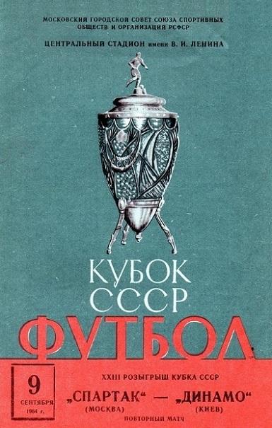 Спартак (Москва) - Динамо (Киев) 2:3
