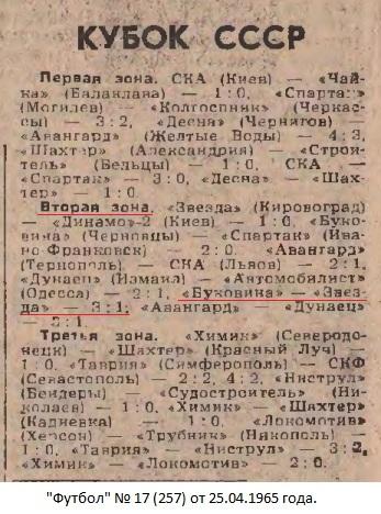 Буковина (Черновцы) - Звезда (Кировоград) 3:1