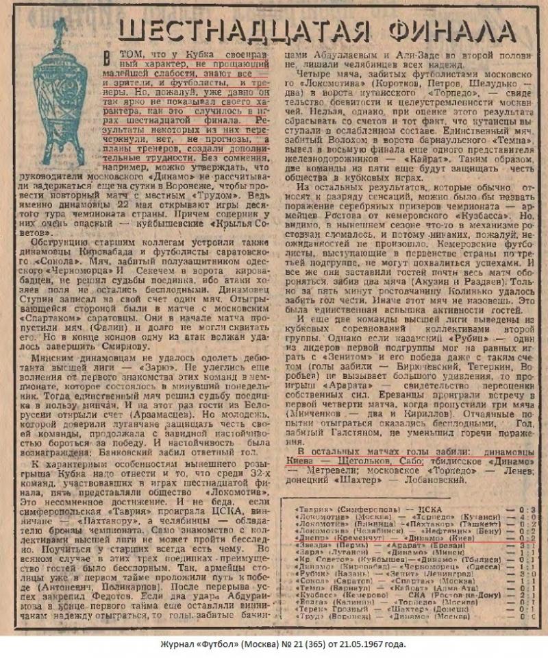Днепр (Кременчуг) - Динамо (Киев) 0:2. Нажмите, чтобы посмотреть истинный размер рисунка