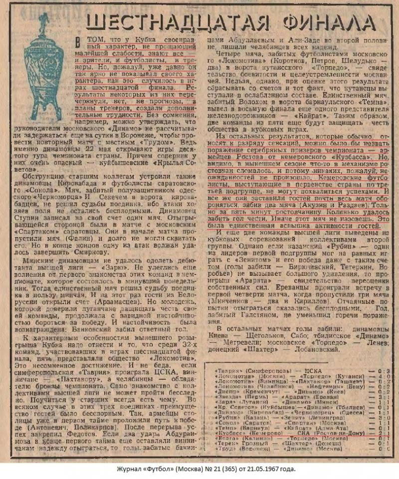 Кузбасс (Кемерово) - СКА (Ростов-на-Дону) 2:1. Нажмите, чтобы посмотреть истинный размер рисунка
