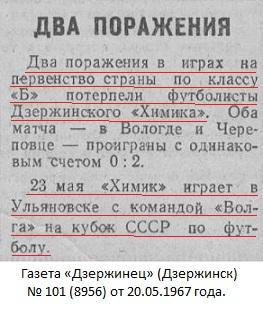 Волга old-1 (Ульяновск) - Химик (Дзержинск) 1:0