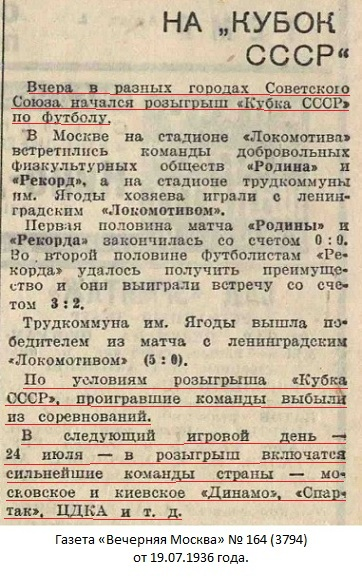 Стахановец (Кадиевка) - Динамо (Москва) +:- неявка
