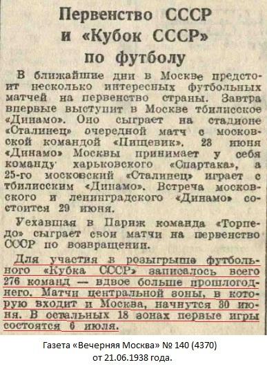 Пищевик (Астрахань) - Зенит - завод № 221 (Сталинград) +:- неявка