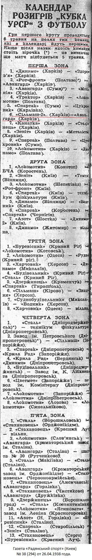 Сельмаш-2 (Харьков) - Автомотор (Харьков) 0:2