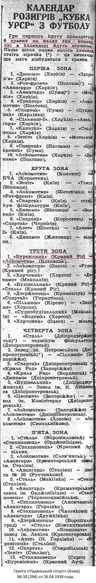 Буревестник (Кривой Рог) - Локомотив (Котовск) 3:3 д.в.