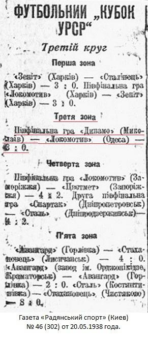 Динамо (Николаев) - Локомотив (Одесса) 3:0