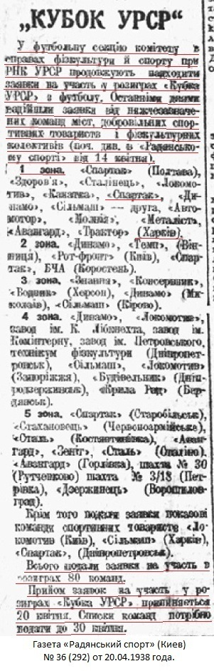 Спартак (Харьков) - Буревестник (Москва) 3:0