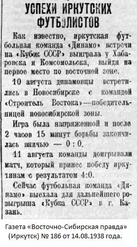 Строитель Востока (Новосибирск) - Динамо (Иркутск) 0:4