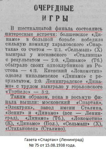 Торпедо (Горький) - Динамо (Ленинград) 2:3