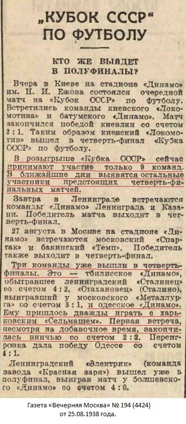 Динамо (Одесса) - Сельмаш (Харьков) -:- 2:2 д.в. аннул.