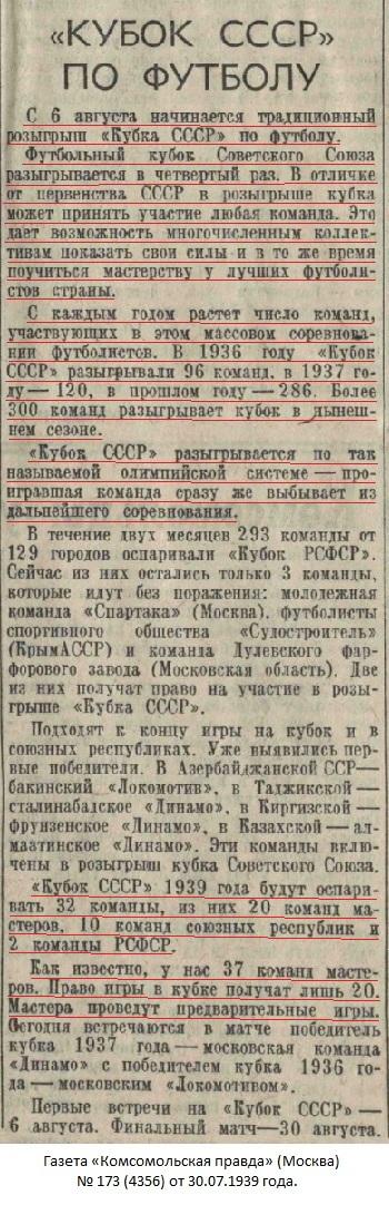 Стахановец (Сталино) - Локомотив (Тбилиси) 6:2