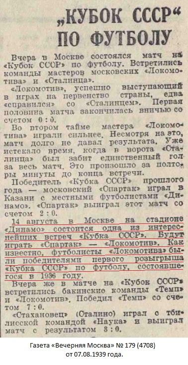 Спартак (Москва) - Локомотив (Москва) 1:0