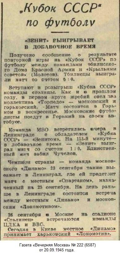 Динамо (Киев) - Локомотив (Харьков) 0:2