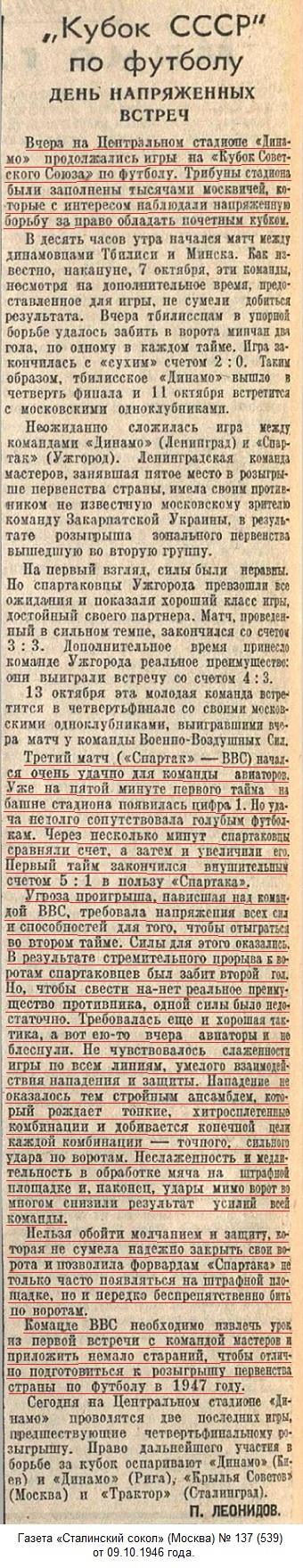 ВВС (Москва) - Спартак (Москва) 2:6